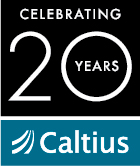 Caltius 20 Year Logo